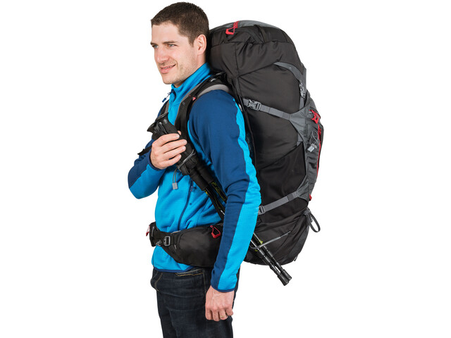 Millet Mount Shasta 65+10 Backpack Unisex, tarmac/noir